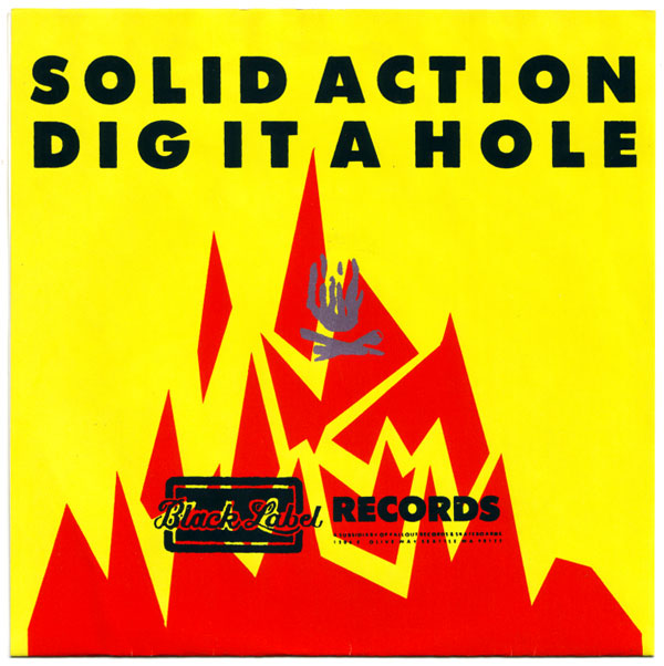 U-Men -- Solid Action b/w Dig It A Hole
